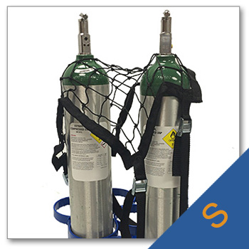 Small Cylinder Netting for Round Opening Racks