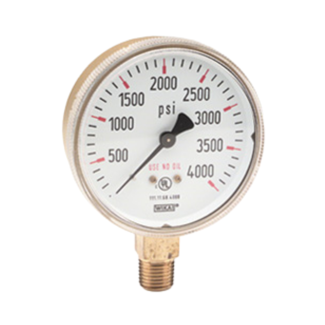 SALE! High Pressure Gauge with Calibration