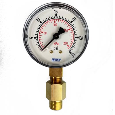 Low Pressure Test Gauge 0 30 psi