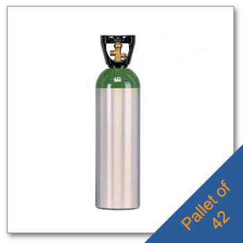 Pallet of M60 Aluminum Cylinders