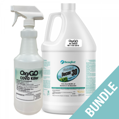 NEW! OxyGo COVID Killer Disinfectant Bundle