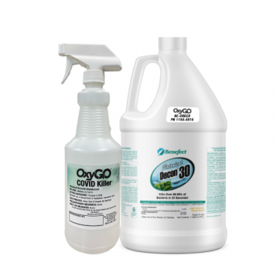 NEW! OxyGo COVID Killer Disinfectant Bundle
