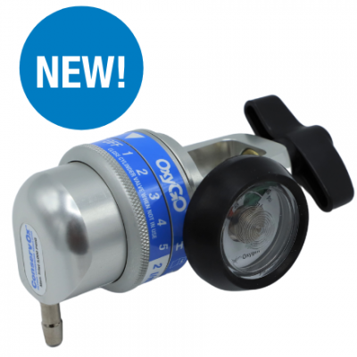 New! OxyGo ConservOx Oxygen Conserving Regulator