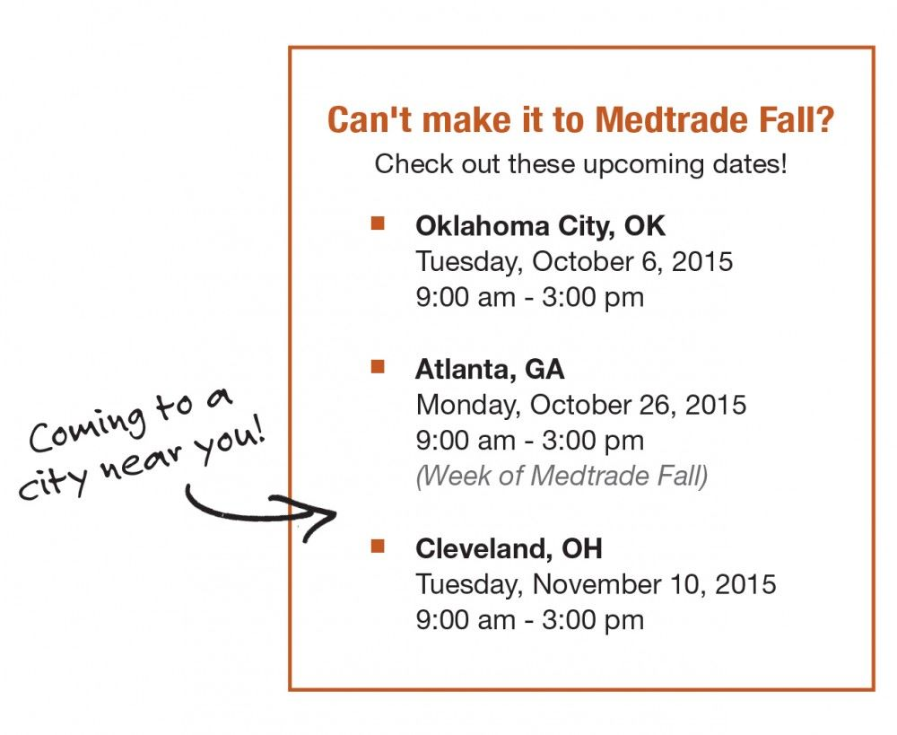 2015 Medtrade Fall Show Preview and Show Specials