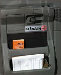 Posting no smoking signs