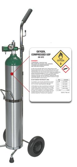 NEW OSHA Requirements For Oxygen Cylinder Labels