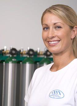 Oxygen Provider Employee