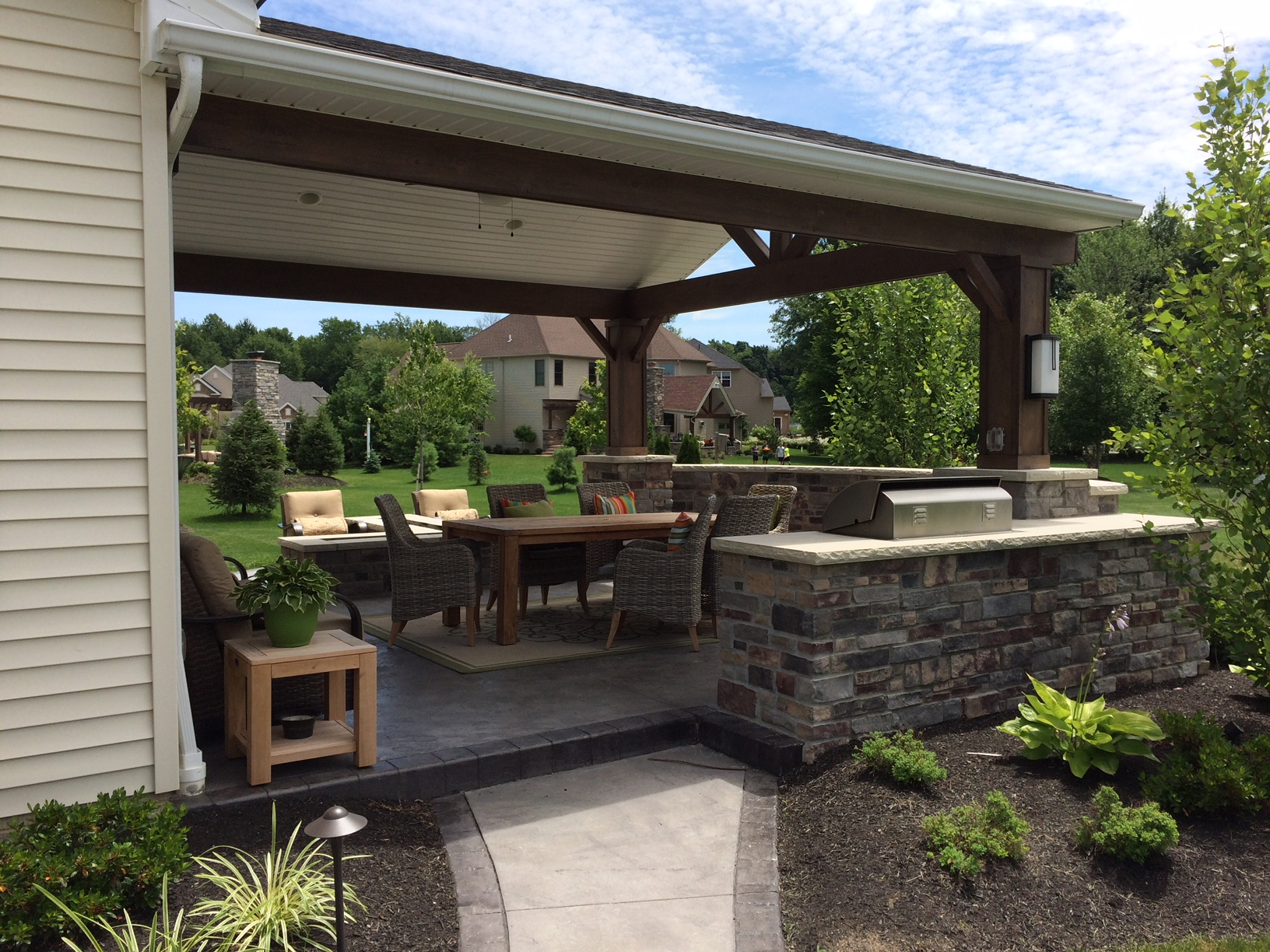 Create Your Outdoor Living Space | Avon Landscaping