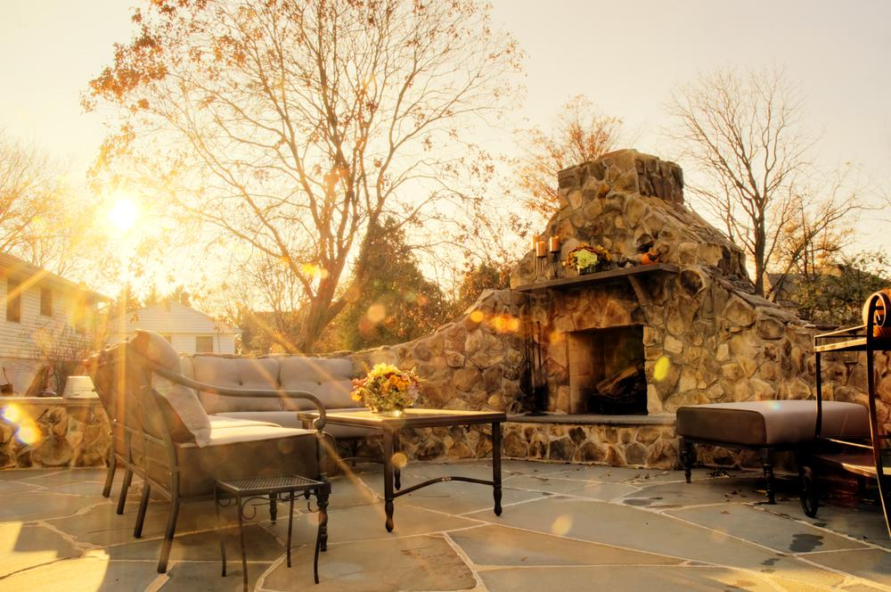 Choosing between a fireplace and fire pit | Avon Landscaping
