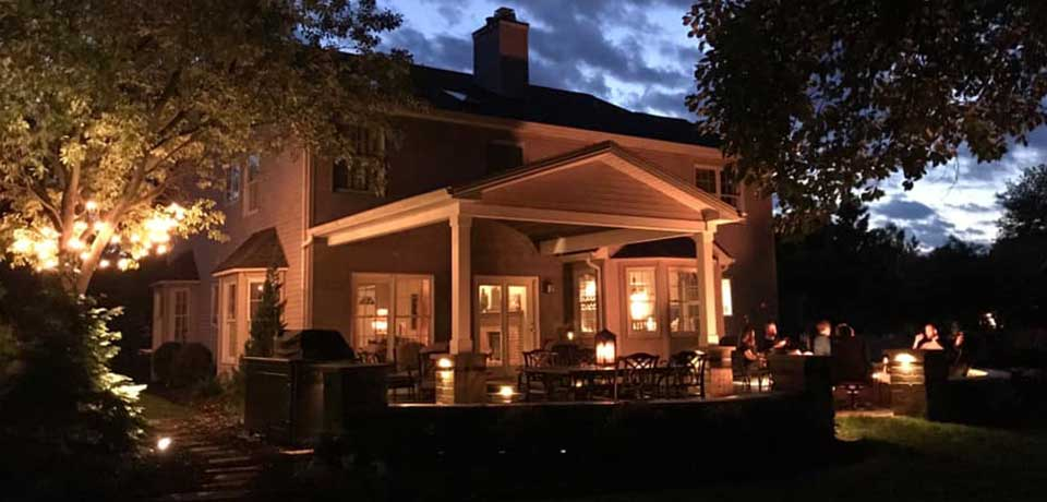 Outdoor Lighting | Avon Landscaping