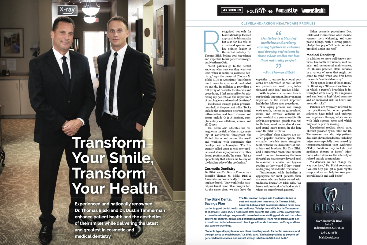 Dr. Bilski and Dr. Timmerman Featured in Good Housekeeping Magazine Image