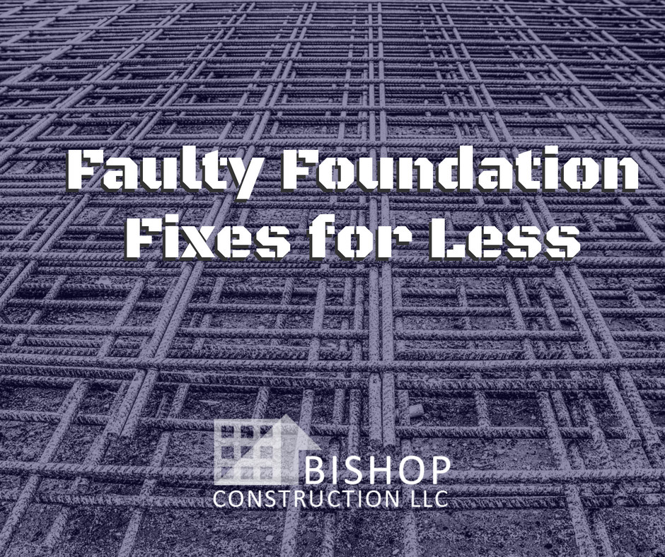 Fixing rotting foundations for less in Cleveland, Ohio | Bishop Construction