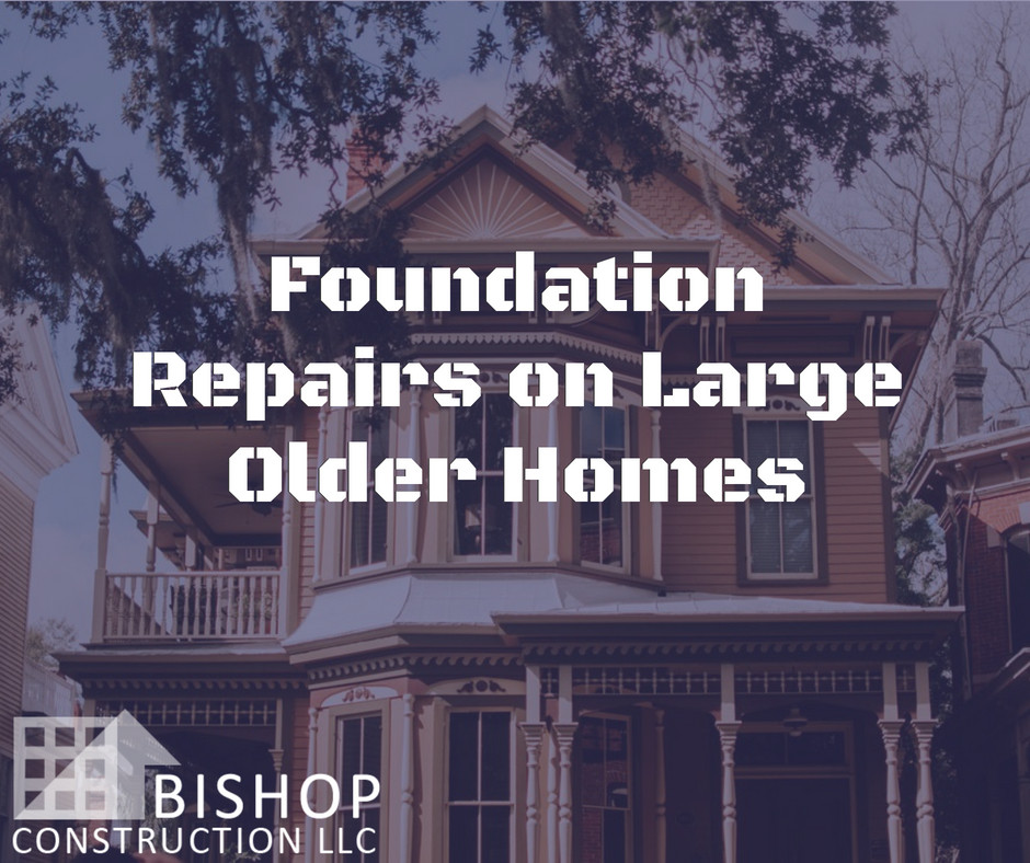 Lakewood, Ohio style home foundation issues and repairs | Bishop Construction