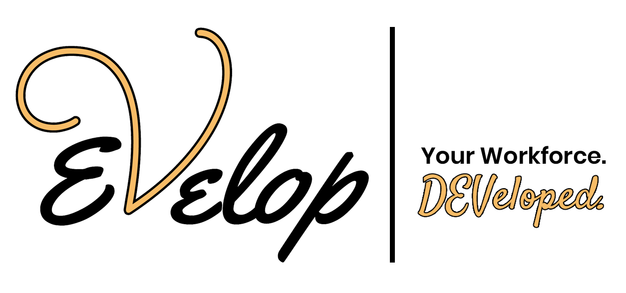 Evelop   Your Workforce. DEVeloped. Logo