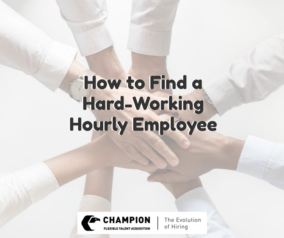 Champion works with employers and employees to help match them to each other