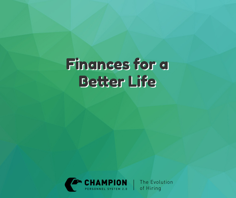 Finances for a Better Life | Champion | Cleveland
