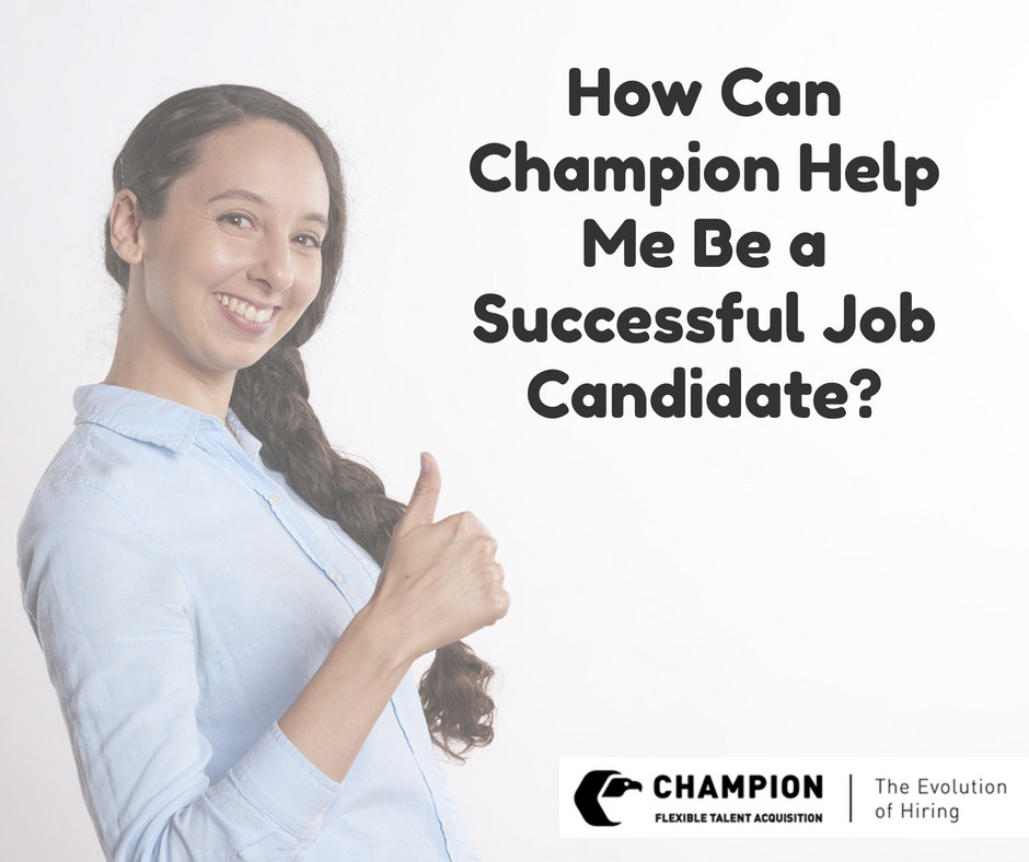Champion tell you how to be a successful candidate |Cleveland, OH
