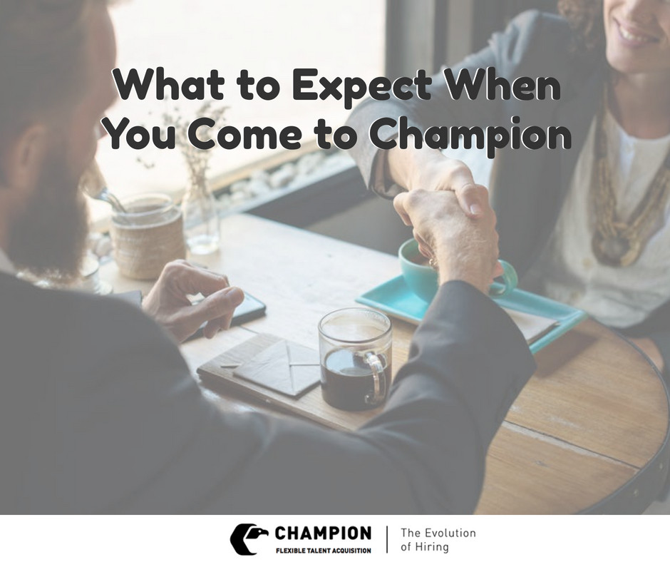 Champion shares what the first day of candidate process is | Cleveland, OH