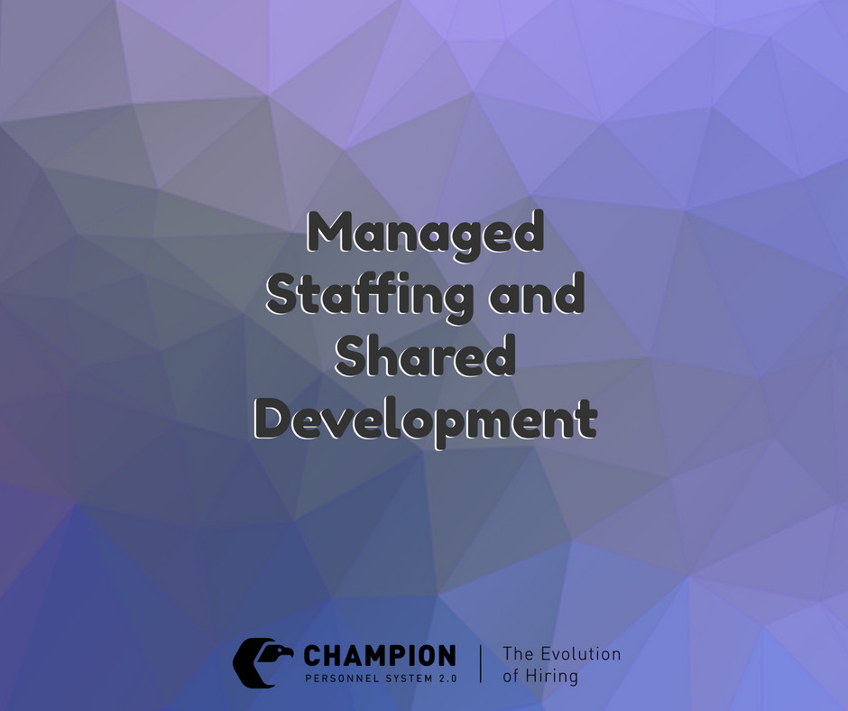 Managed Staffing and Shared Development | Champion | Cleveland, Ohio