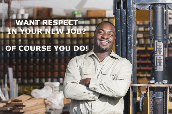 Want RESPECT in your new job? Of course you do | Champion | Cleveland