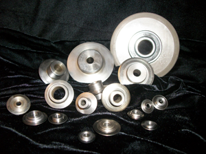 We manufacture cutter wheels