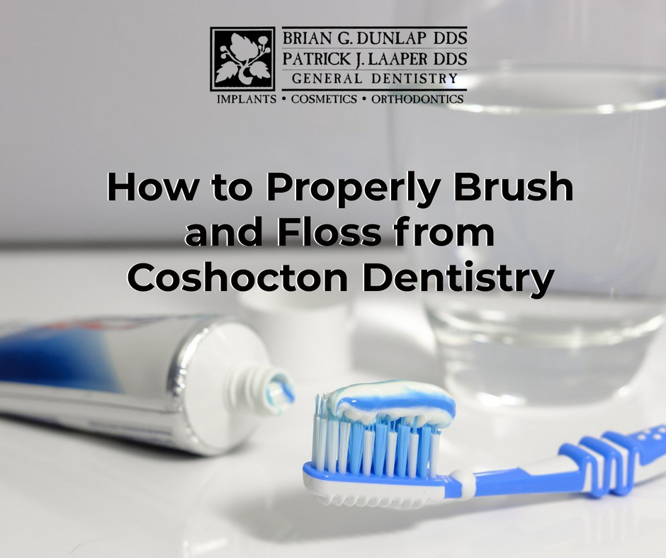 How to Properly Brush and Floss from Coshocton Dentistry