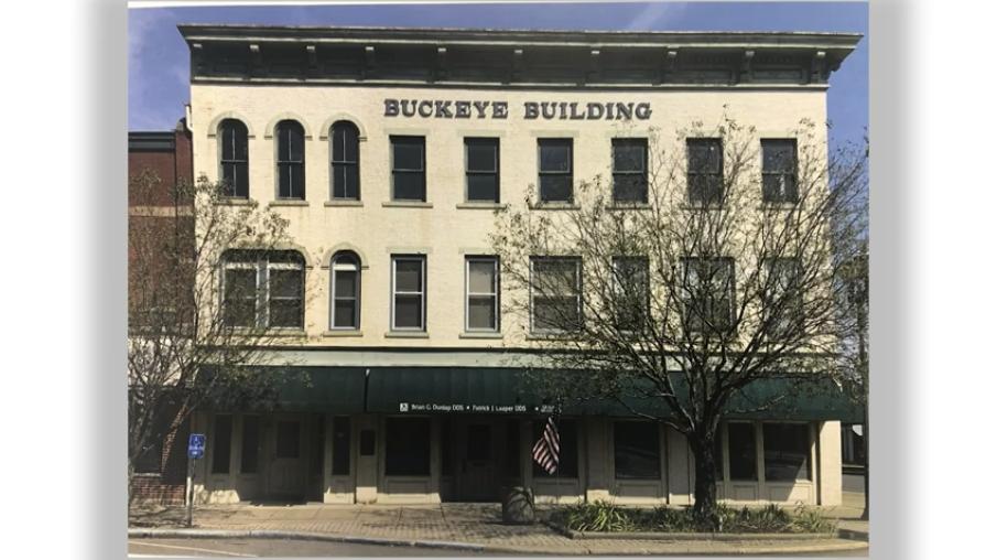 History of the Buckeye Building in Coshocton, Ohio