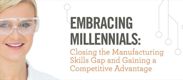Embracing Millenials: Closing the Manufacturing Skills Gap