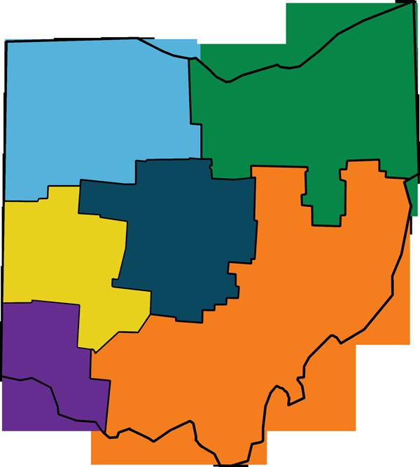 Ohio Regional Map