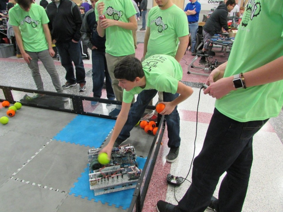 Vex Middle School Competition