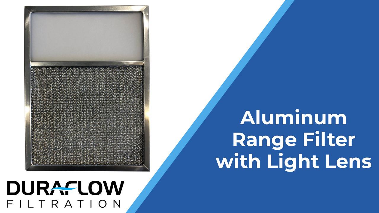 Aluminum Range Filter with Light Lens