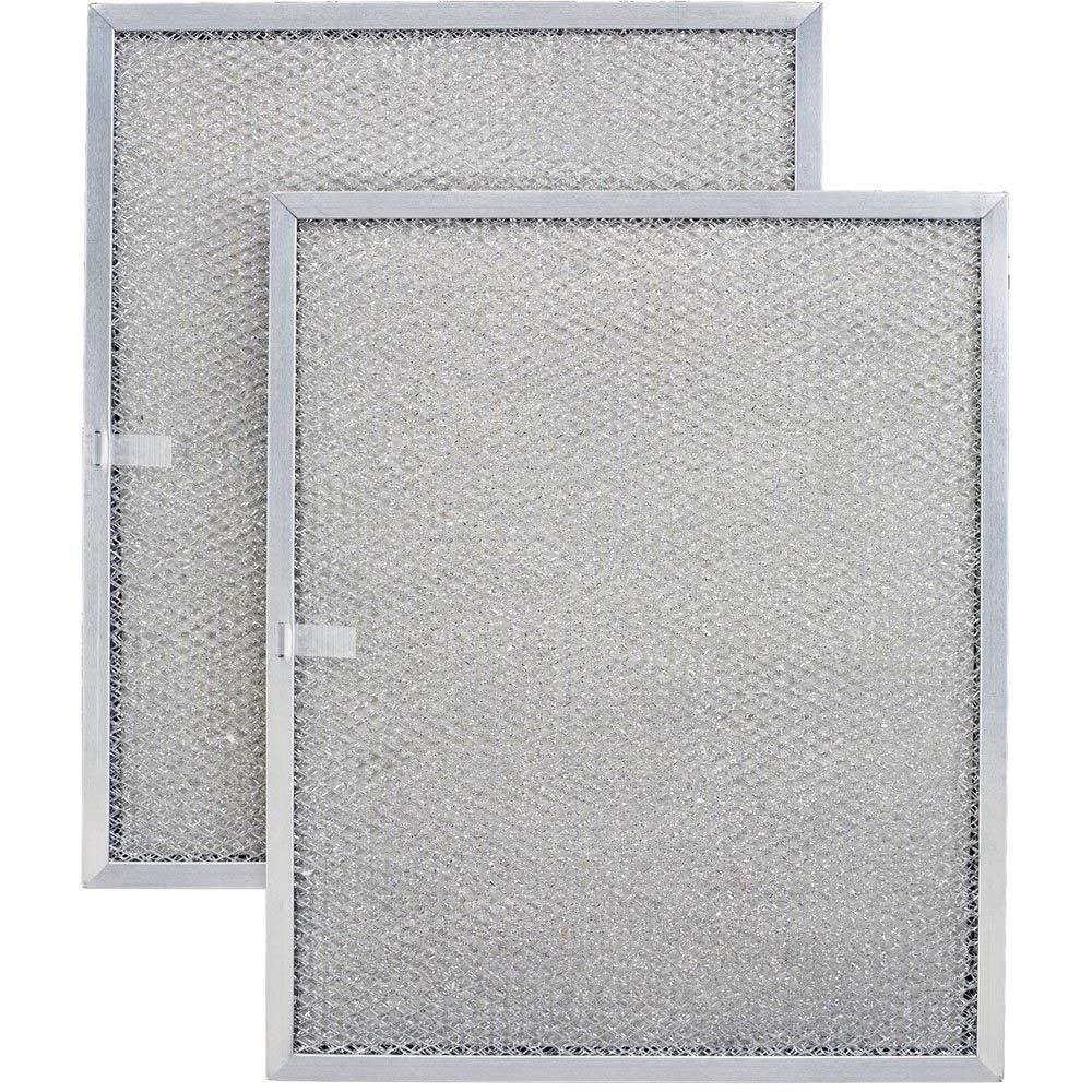 Aluminum Replacement Range Filter Compatible With Kitchenaid 4168901  Dimensions: 8 5/8 x 11 x 3/8 P