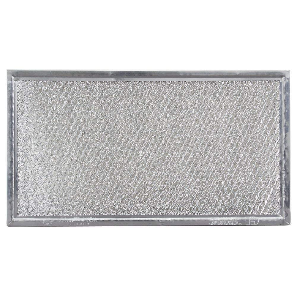 Replacement Microwave Grease Filter Compatible with Whirlpool 8206229A   5 7/8 x 10 5/8 x 3/32   1 P