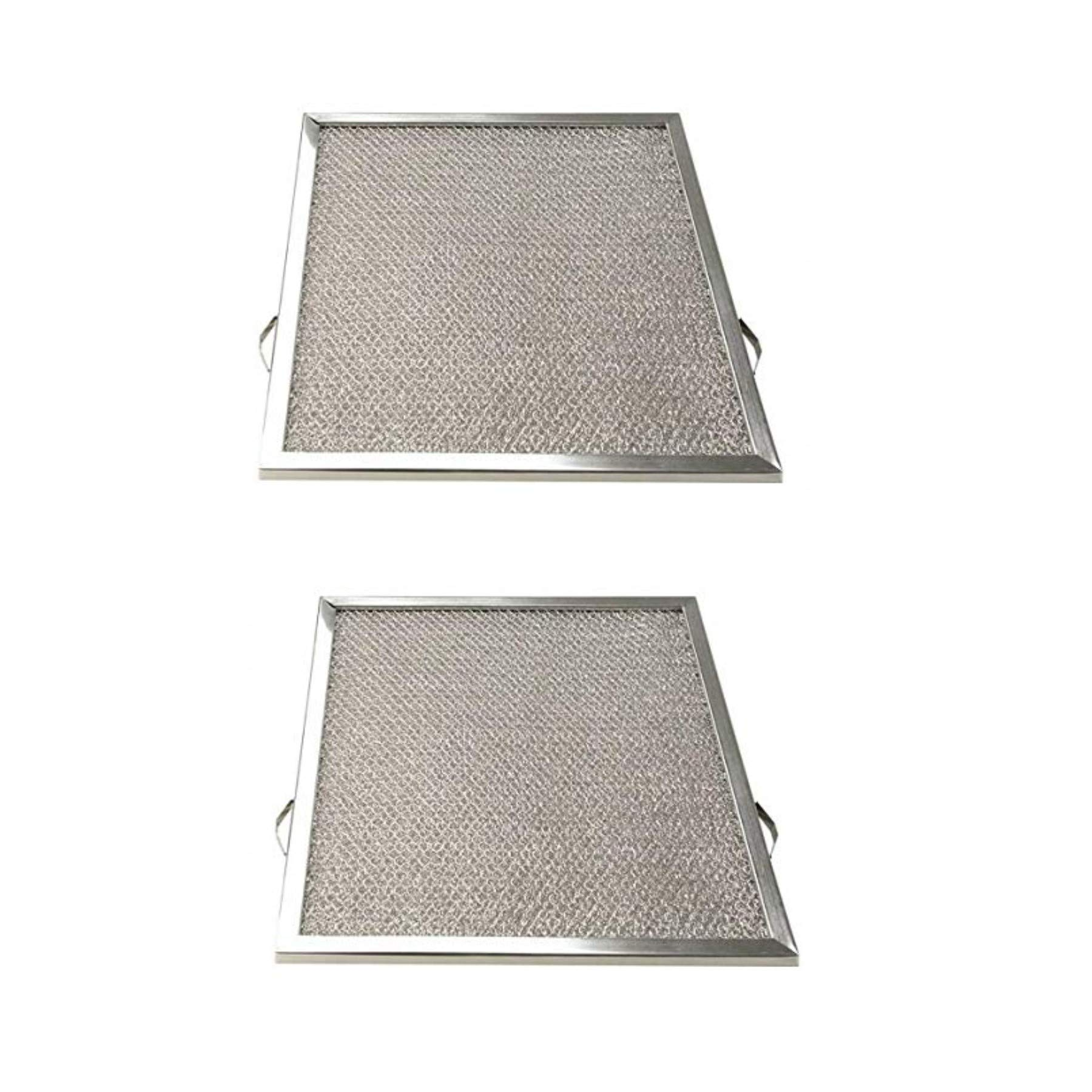 Replacement Aluminum Filters Compatible with Air King GF 06S,G 8606,  10 1/4 x 12 x 3/8 (2 TS OPO LS
