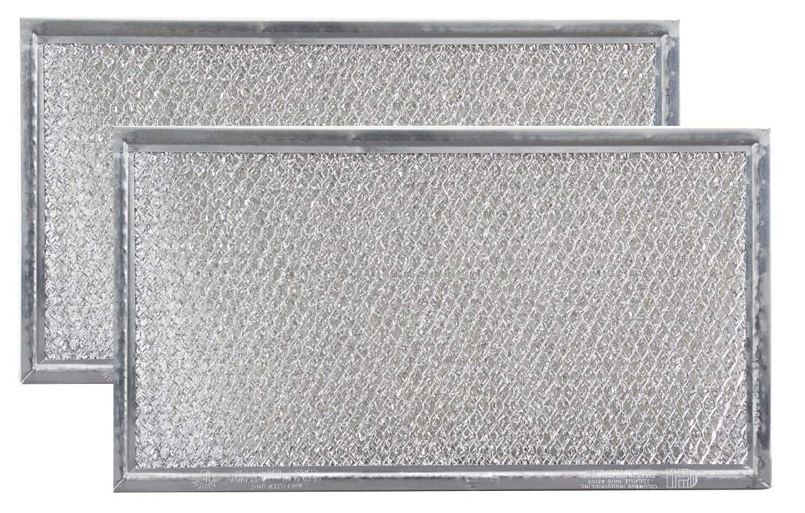 Replacement Microwave Grease Filters Compatible with Whirlpool 8206229A   5 7/8 x 10 5/8 x 3/32   2