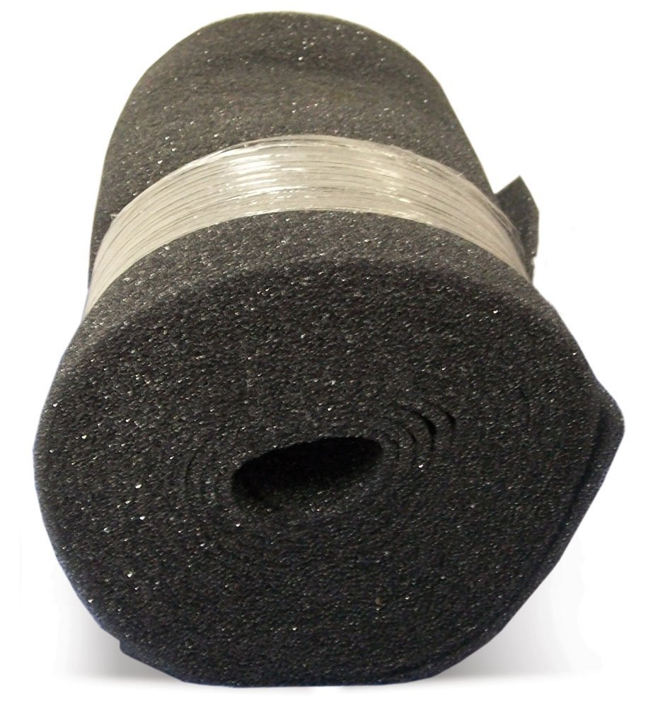 Duraflow Filtration Air Filter Foam Roll Media   24 in x 25 ft x 1/4 in   FSR22525