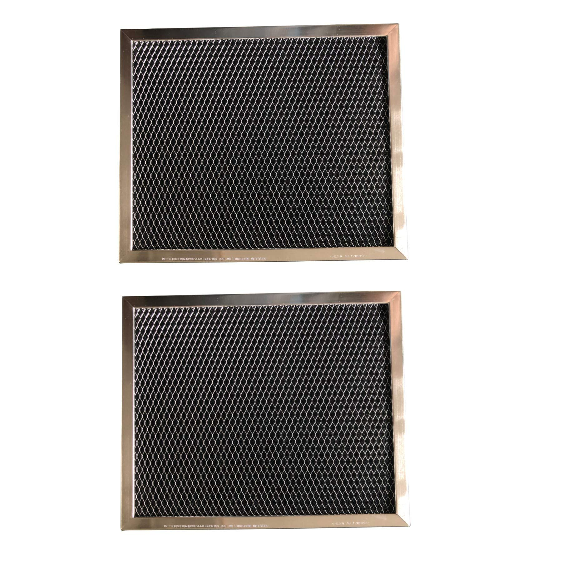 Replacement Carbon Filters compatible with Broan: 99010123, 97007696, 97005687 Caloric: Gem: 88152 R