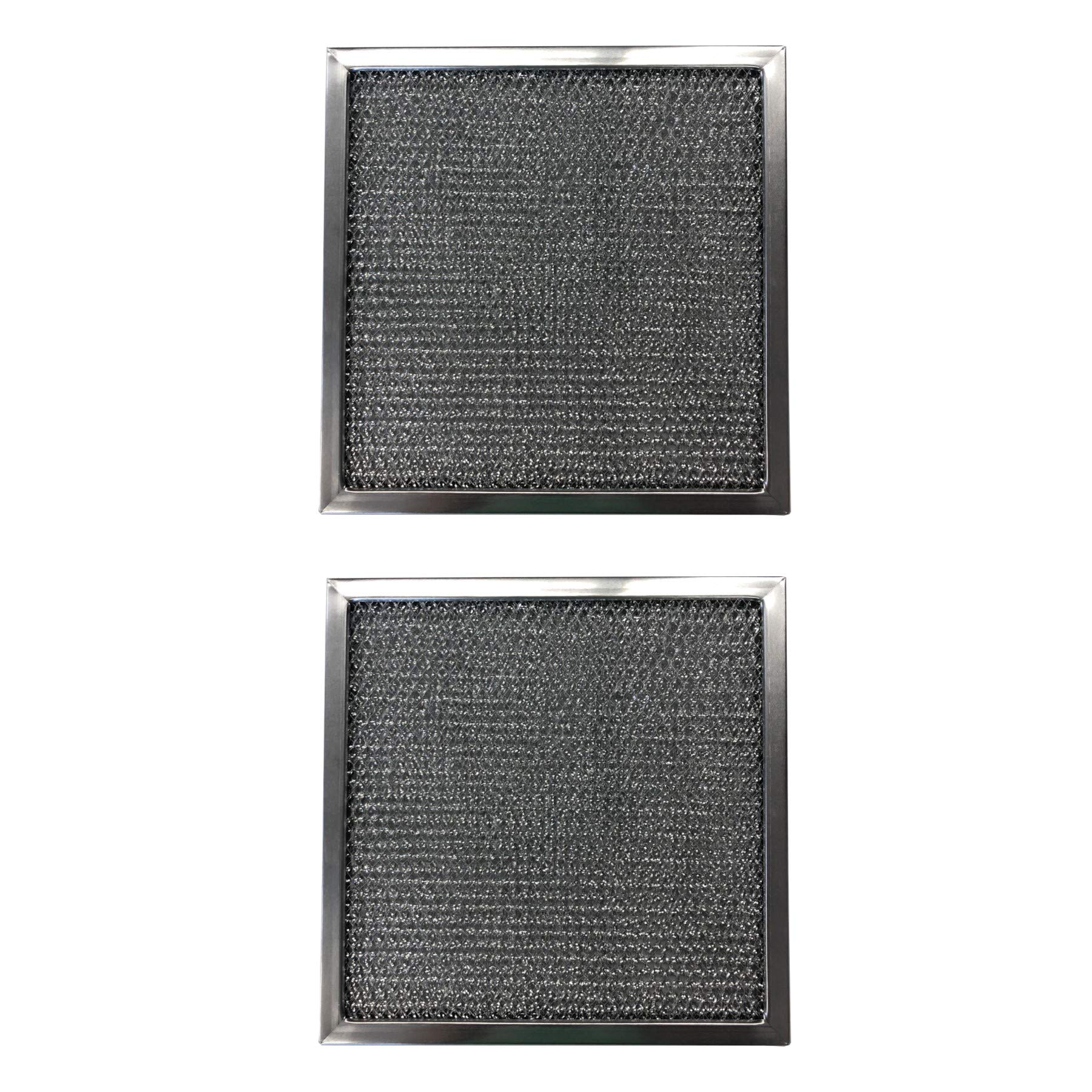 Replacement Aluminum Filters Compatible with Nutone 50829,G 8538,RHF1015  10 5/8 X 10 5/8 X 3/8 (2 P