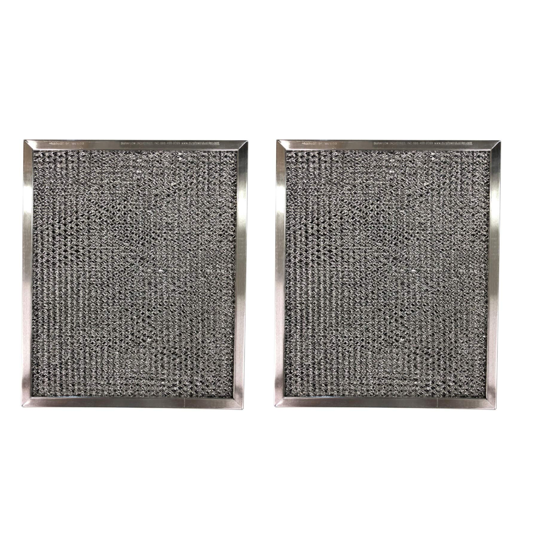 Aluminum Replacement Range Filter Compatible With Nutone K079000, K079 000  Dimensions: 8 x 11 x 3/8