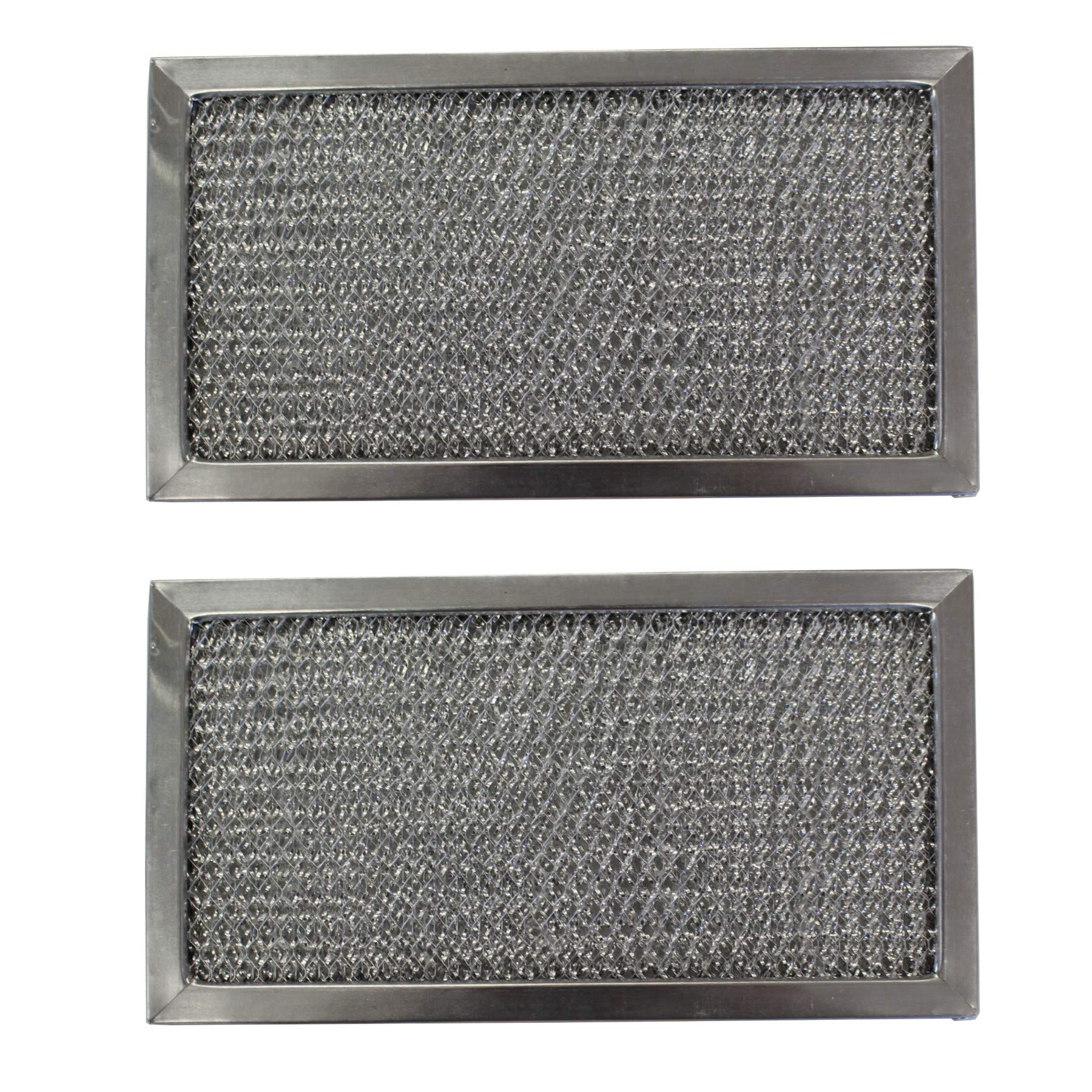 Replacement Aluminum Filters Compatible with GE WB02X1559, GE WB2X1559,G 8127,  6 1/2 x 7 3/8 x 3/8