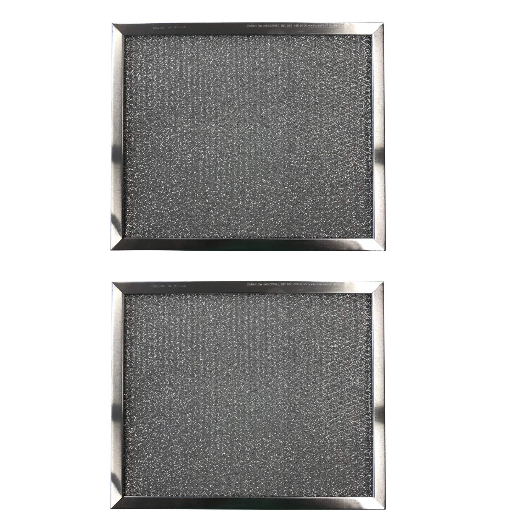 Replacement Aluminum Filters Compatible with Broan 97008729, Broan 99010037,G 8536,RHF1014  10 1/2 X