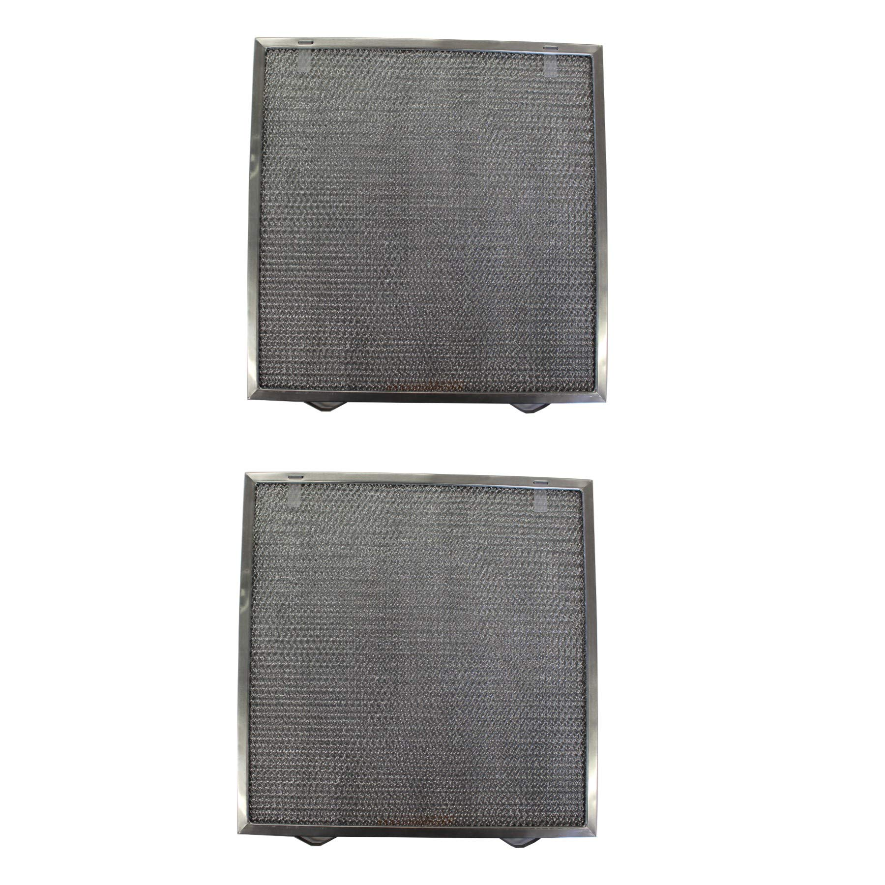 Replacement Aluminum Filters Compatible with Broan S97017415,G 8193,  13 3/4 X 14 X 3/8 (2 PTSS, 2 T