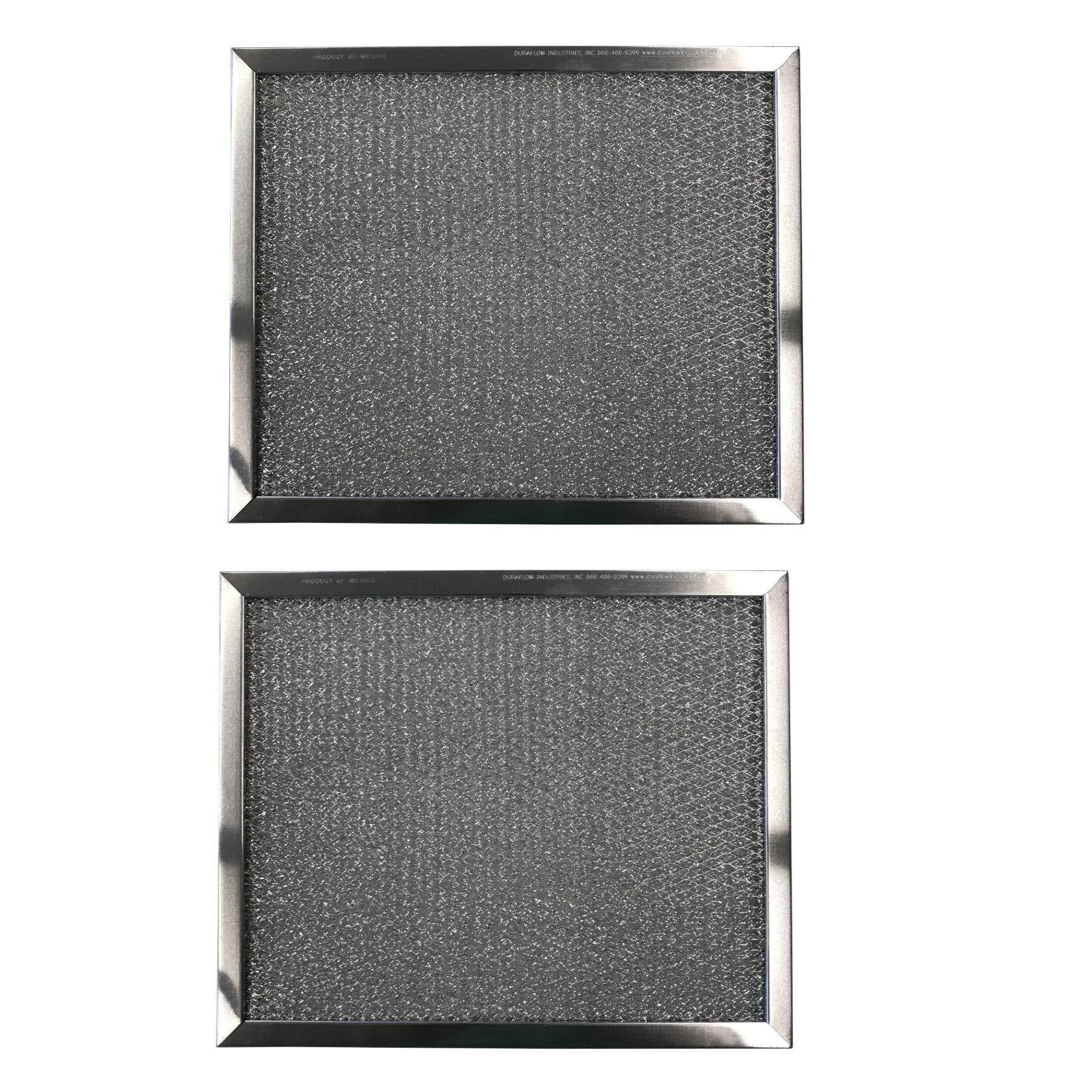 Aluminum Replacement Range Filters Compatible With Broan 99010033, S97009562, S99010033, BP10  Dimen