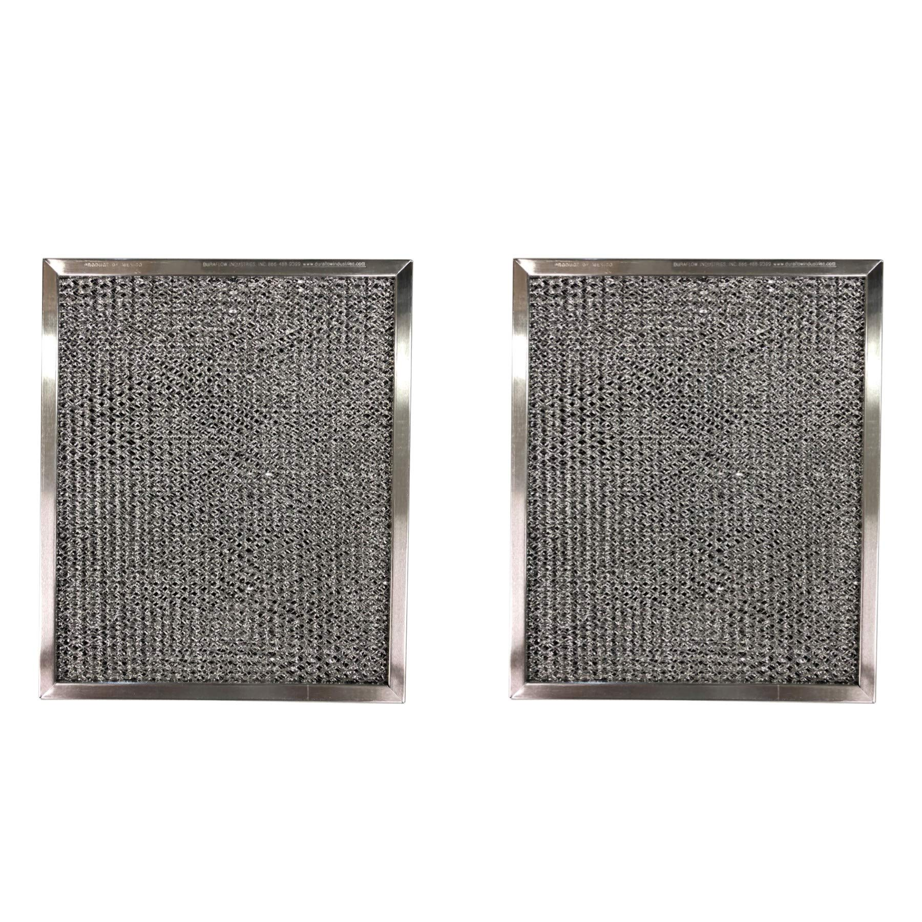 Replacement Aluminum Filters Compatible with Sears/Kenmore 50185,GC 7506,  8 3/4 x 10 1/2 x 3/8 (2 P
