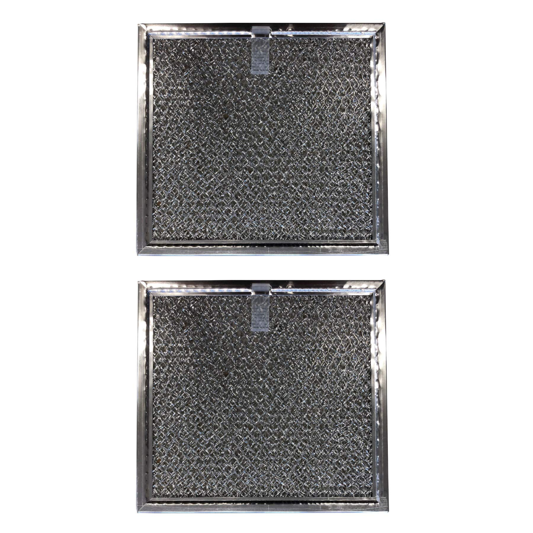 Replacement Aluminum Microwave Filters Compatible With Samsung DE63 00666A   6 3/8 X 6 7/8 X 3/32 in