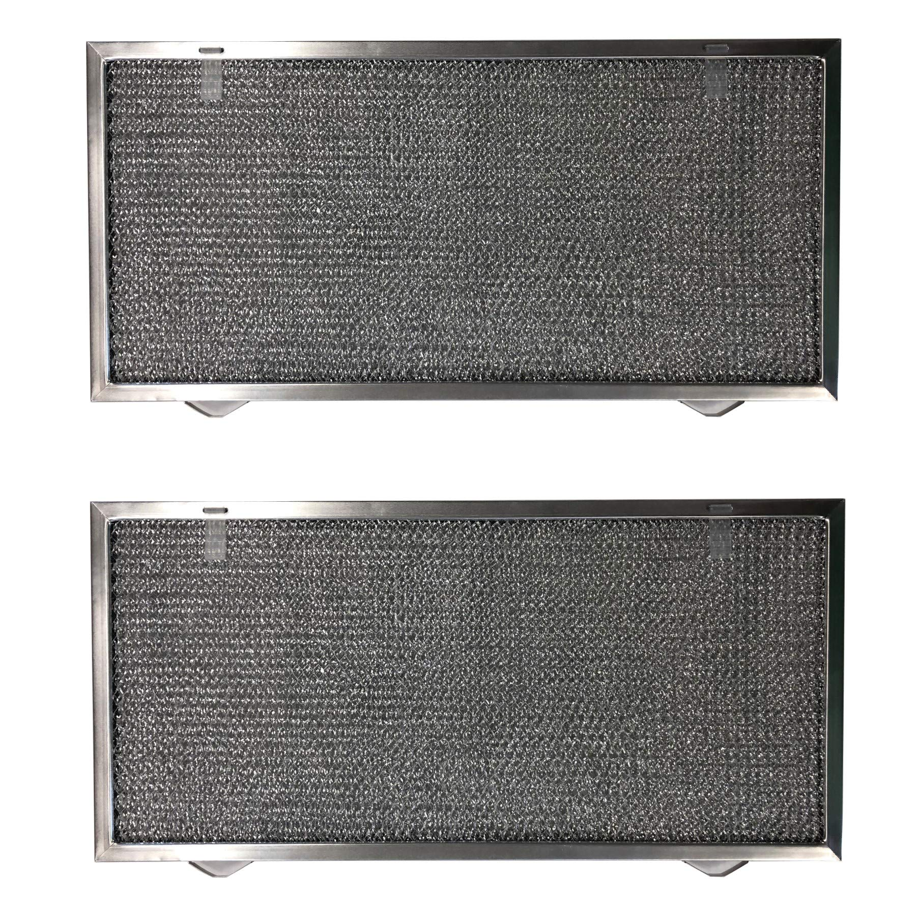Replacement Aluminum Filters Compatible with Air King CF 01S,GC 7515,  9 3/8 x 10 1/2 x 3/8 (2 TS LS