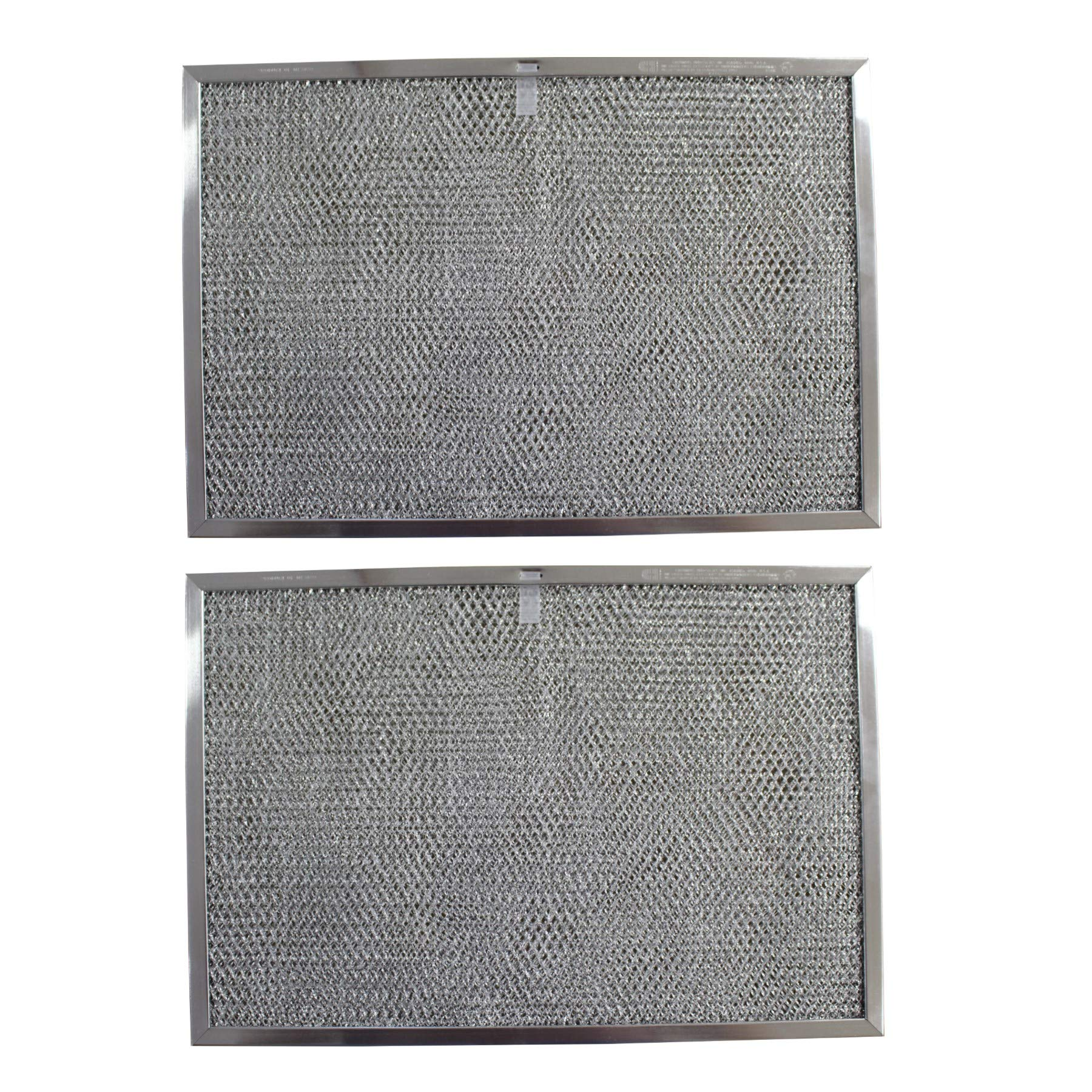 Replacement Aluminum Filters Compatible with GE WB02X2158, GE WB2X2158,G 8612,RHF1124  11 3/8 x 17 x