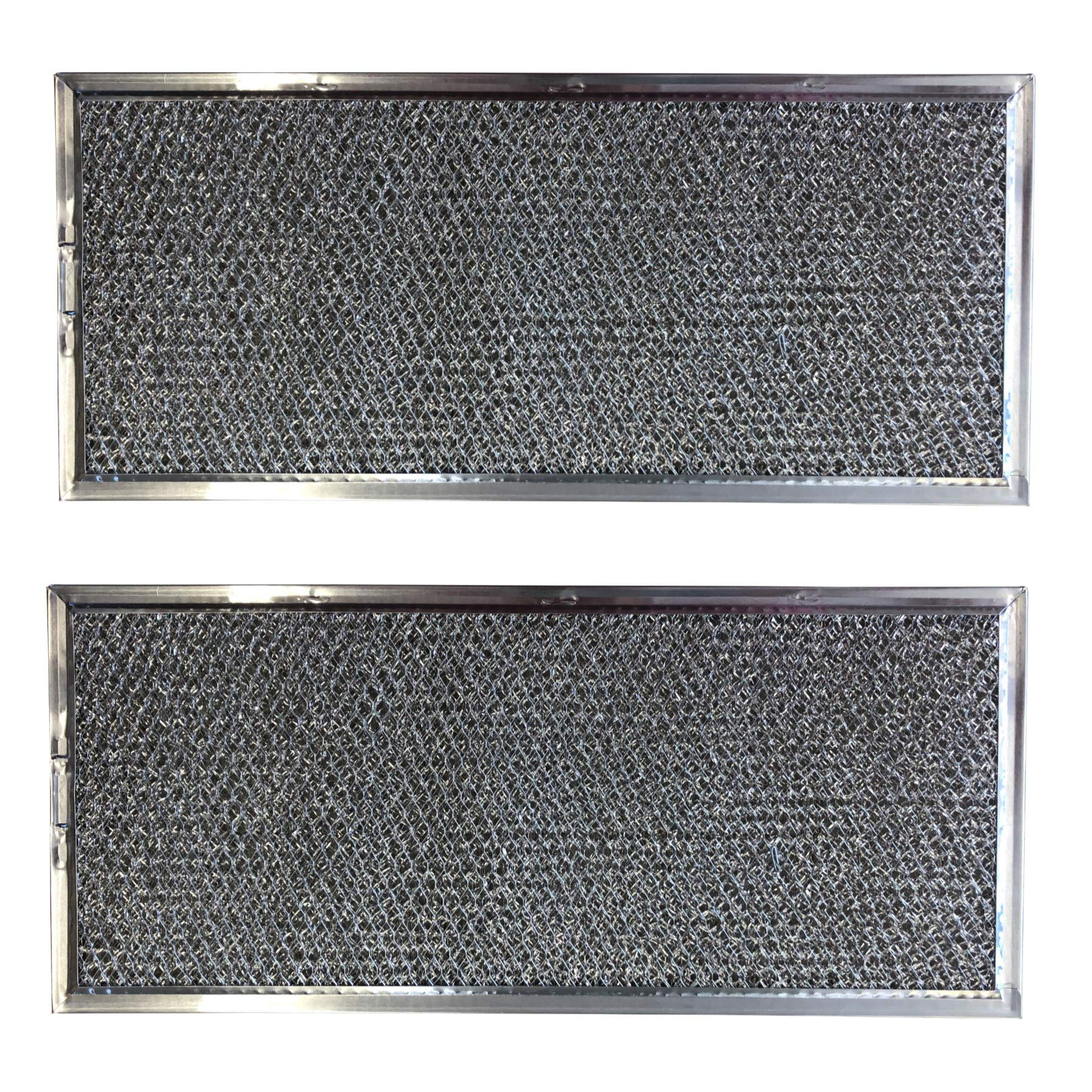 Replacement Aluminum Microwave Filters Compatible With Whirlpool W10120839A and More   5 5/8 x 11 5/