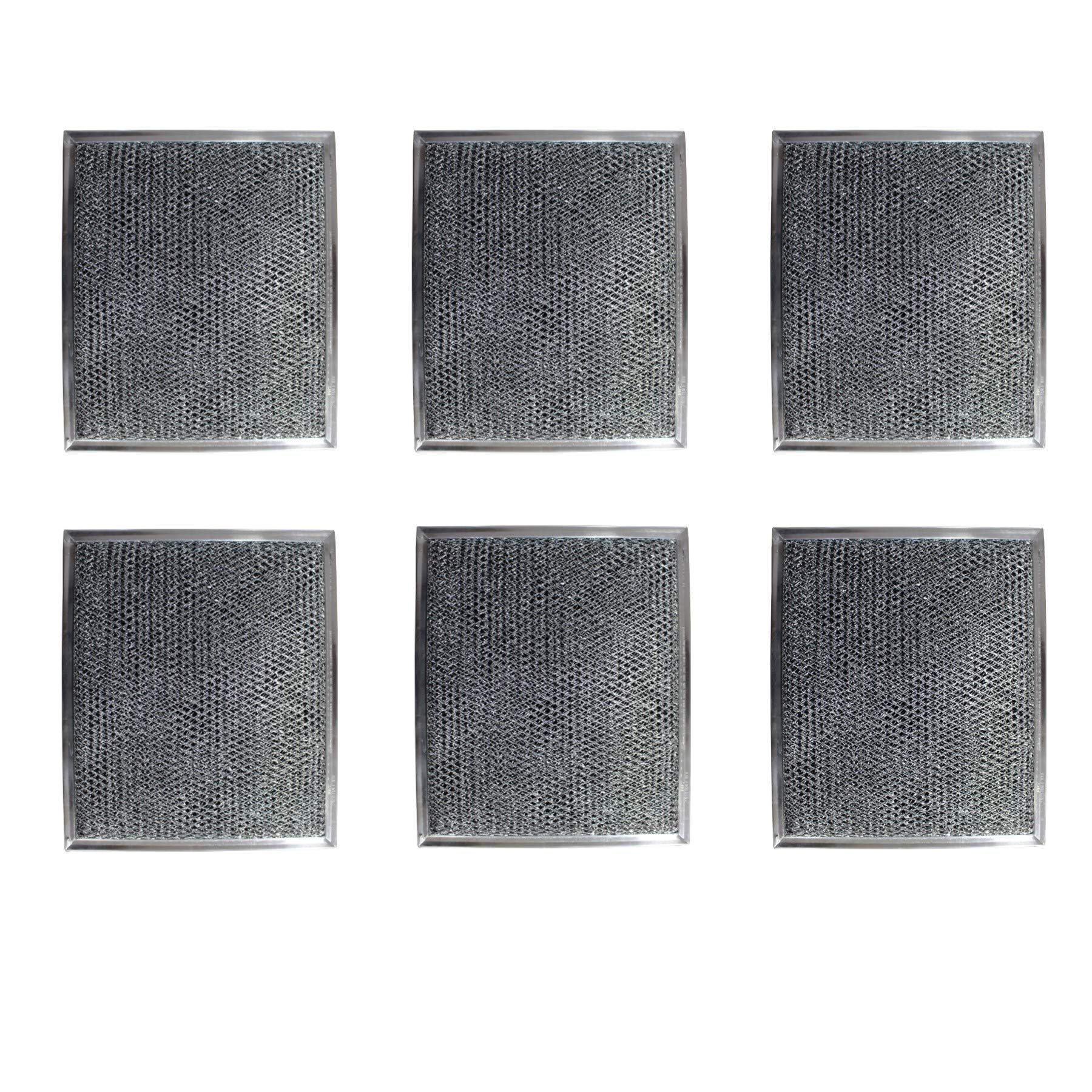 Replacement Carbon Filters compatible with GE: WB2X8406, WB02X10700 , 7506 (6 Pack)