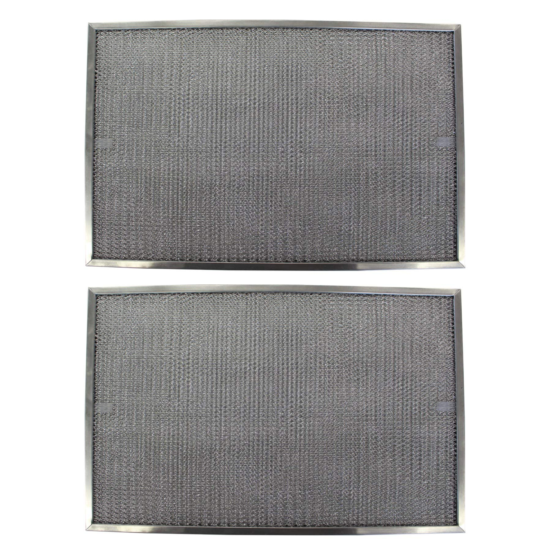 Replacement Aluminum Filters Compatible with Rangeaire 610005,G 8571,RHF0822  8 1/4 x 11 x 3/8 (PT S